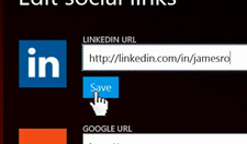Step 3: Add social links