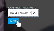 Step 4:  Save Tracking ID